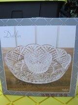 (NEW) Godinger Dublin Large Crystal Chip and Dip Bowls in Fairfield, California