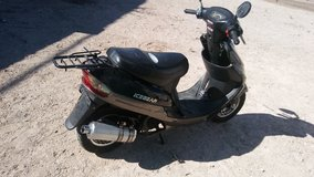 Ice used moped in Nellis AFB, Nevada