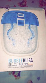 Bubble bliss foot spa in Fort Leonard Wood, Missouri