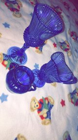 Avon vintage blue glassware in Fort Leonard Wood, Missouri
