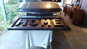 LARGE custom built sign in Naperville, Illinois