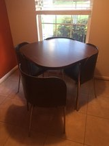 IKEA charming round dining room table, 4 chairs - (Potomac Falls) in Fairfax, Virginia