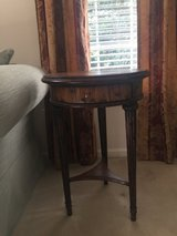 Side Table, traditional, round, LaZboy - (Potomac Falls) in Fairfax, Virginia