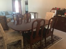 Dining Room Set (table, chairs, sideboard) Pennsylvania House, Cherry Wood, 12 pcs  (Potomac Falls) in Fairfax, Virginia