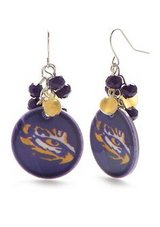 ***BRAND NEW Eye Of The Tiger LSU Earrings*** in Houston, Texas