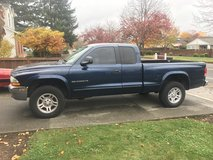 2002 dodge Dakota 4x4 Extended Cab in Fort Lewis, Washington