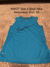 NWOT Boys Nike 4 Sleeveless Shirt in Naperville, Illinois