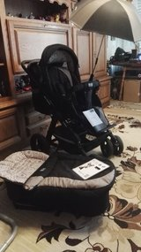 Stroller ABC TURBO 6 S design,all weather stroller, new cond. in Ramstein, Germany