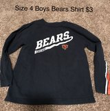 Boys Size 4 Bears Shirt in Naperville, Illinois