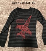 Boys Size 4 Jet Fighter Shirt in Naperville, Illinois