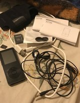 AGPtek Mp3 Player /w SD Card(128gb) and Adpater in New Orleans, Louisiana