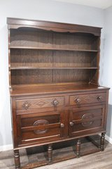 Antique Welsh Cupboard in Kingwood, Texas