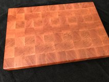 Cherry End Grain Butcher Block Cutting Board in St. Charles, Illinois