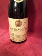 "Vintage ""1979"" Still Red Burgundy Wine (Clos De Vougeot) in Los Angeles, California"