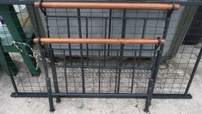 metal antique looking twin bed frame in Okinawa, Japan