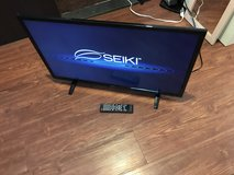 "32"" Seiki flatscreen lcd tv. New condition. in Okinawa, Japan"