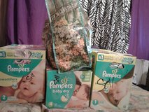 3Boxes Of Baby Girl Clothes in Fort Polk, Louisiana