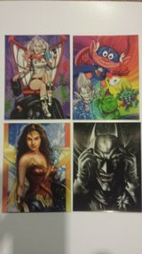 "4 1/4"" x 5 1/2"" fridge magnets assorted characters in Lockport, Illinois"