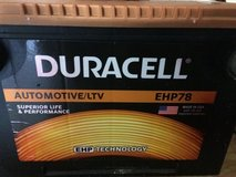 Duracell 12 volt 850 cca side mount battery in Fort Knox, Kentucky