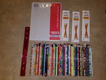 NEW pack of paper, ruler and LOTS of pencils, in Fort Drum, New York
