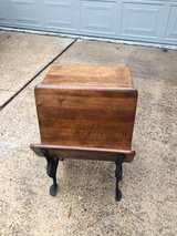 *ANTIQUE SCHOOL DESK & BENCH* in Houston, Texas