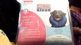 Dog Protective Collar Inflatable by King Cloud for Injuries, Rashes, Biting, Post Surgery Vet Re... in Fort Campbell, Kentucky
