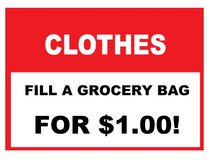 Large Clothing, shoes and coats sale, come & fill a bag for $1.00! Call today for details. end o... in Brookfield, Wisconsin