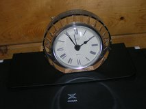 Crystal Mikasa battery operated table clock in Yucca Valley, California
