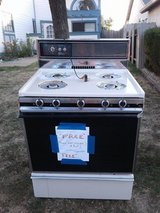 Gas stove .. works in Fairfield, California