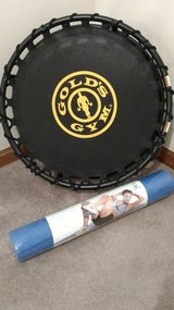 NEW TRAMPOLINE AND YOGA MAT in Fort Carson, Colorado