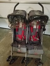 Maclaren double stroller in Lockport, Illinois