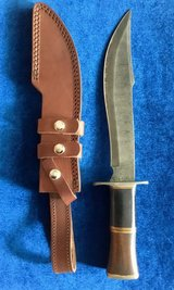 Damascus Knife in Camp Pendleton, California