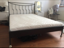 Metal Bed with Mattress140 x 200 FREE DELIVERY in Stuttgart, GE
