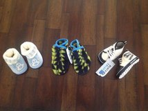Lot of New Baby Boy Booties from 0 till 12 months. in Palatine, Illinois