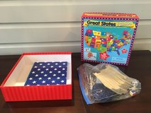 Great States Junior Board Game in Glendale Heights, Illinois