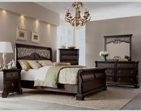 UF NEW - Victoria Q.S Bedroom Set - Brand New! in Ramstein, Germany