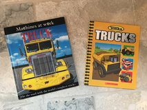 2 Hardcover Picture Books about Trucks in St. Charles, Illinois