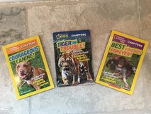 3 National Geographic Kids Chapter Books (7-10 Year Olds) in St. Charles, Illinois
