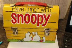 "ORIGINAL ""SNOOPY"" LUNCHBOX W/ THERMOS in Hopkinsville, Kentucky"