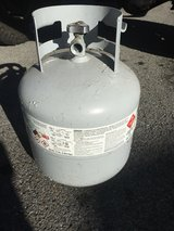 Propane cylinder about 3/4 full in Fort Drum, New York