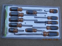 (NEW) Pittsburg 12 Piece Cushion Screwdriver Set in Fairfield, California