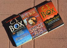 C. J. Box Western Suspense paperbacks in Alamogordo, New Mexico