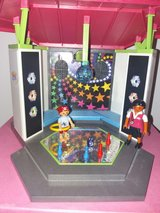 Playmobile kids disco in Stuttgart, GE