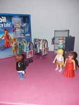 Playmobile celebrities with dresses in Stuttgart, GE
