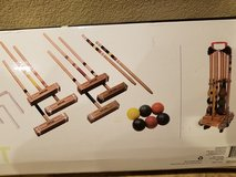 Deluxe Croquet set with caddy in Travis AFB, California