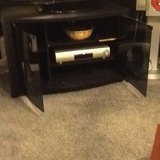 Black TV unit in Lakenheath, UK