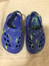 Toddler Boys size 5 Blue Sandals in Houston, Texas