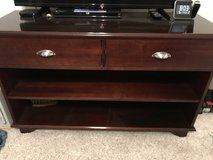 TV stand solid cherry, very good condition in Cherry Point, North Carolina