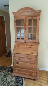 Broyhill Fontana Secretarial Hutch & Desk in Morris, Illinois
