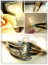 GOLD RING WITH DIAMONDS & GEMS in Fort Carson, Colorado
